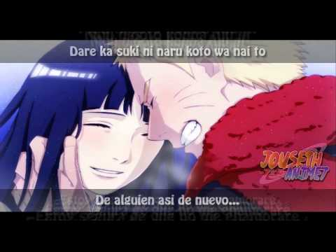 cancion de naruto y hinata de la pelicula the last   Fuyu no Owari ni Sub Esp lyrics