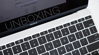 Silver MacBook Unboxing & Overview