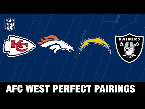 AFC West 2017 NFL Mock Draft | Perfect Pairs for Raiders, Broncos, Chiefs, & Chargers | MTS