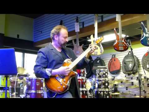 "Daryl Stuermer - ""Shock the Monkey"" @ Heid Music - Appleton, WI April 24, 2014"