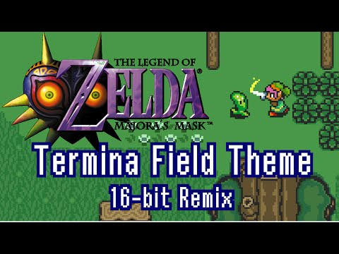 Majora's Mask - Termina Field Theme | 16-bit (SNES) Remix