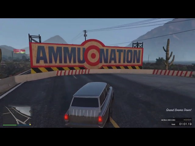 GTA Online Race: Sandy Shores GT Classic - link in description