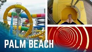 Alle Rutschen im Kristall Palm Beach Stein! (2017 Version)