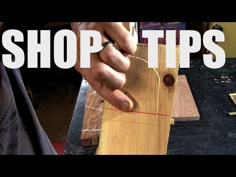 Wood Shop Tips, TSP-style /woodworking // diy