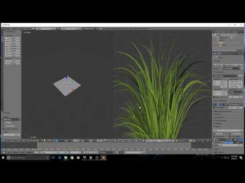 UE4 - Making Animated Grass