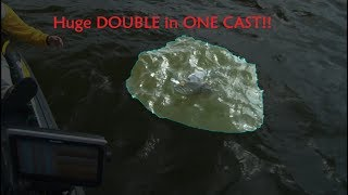 Huge double on one cast!!!