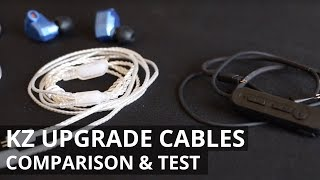 KZ UPGRADE CABLE COMPARISON and TEST - WORTH THE UPGRADE?