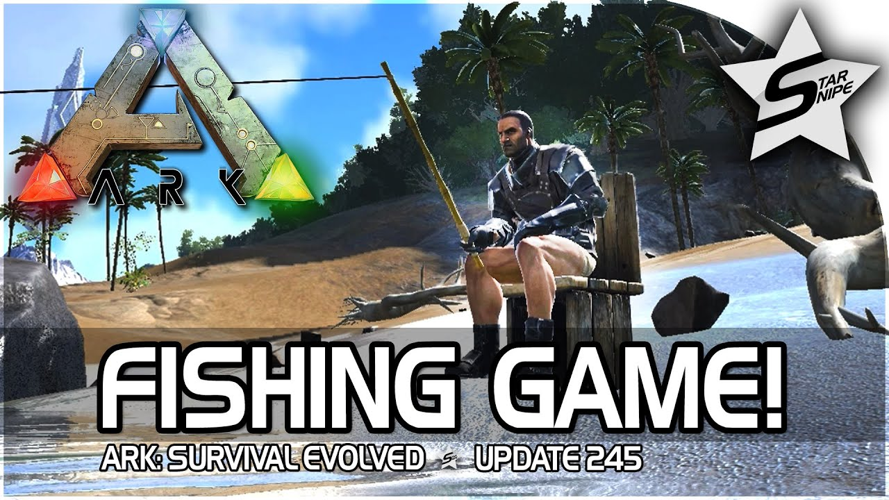 Ark survival evolved fishing rod update gameplay how to for Fishing pole ark