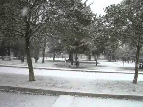 Preganziol nevicata del 7 febbraio 2012