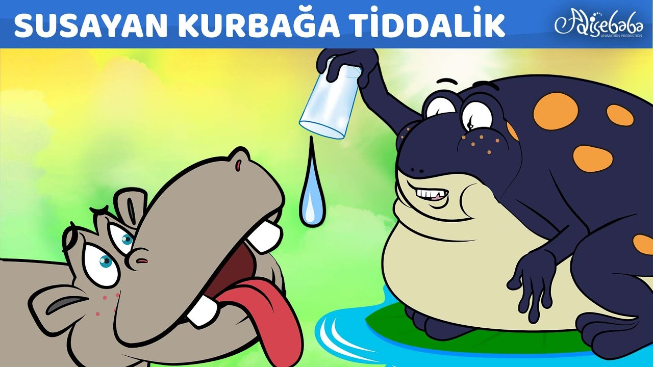 Yeni Masal | Susayan Kurbağa Tiddalik | Adisebaba Masallar