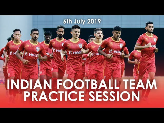 Flipboard: Indian Football Team's Final training session