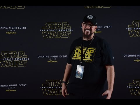 Star Wars The Force Awakens Premiere Disney Springs and Disneys Hollywood Studios Event