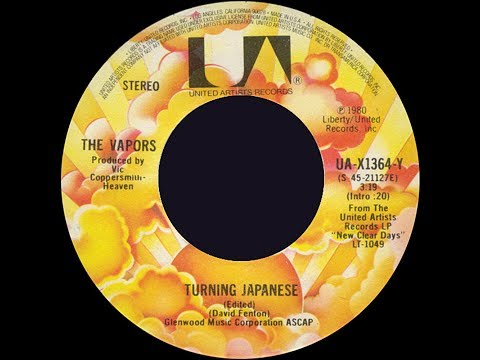 The Vapors ~ Turning Japanese 1980 Extended Meow Mix