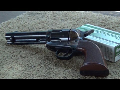 Cleaning the Uberti 1873 El Patron SAA Cattleman
