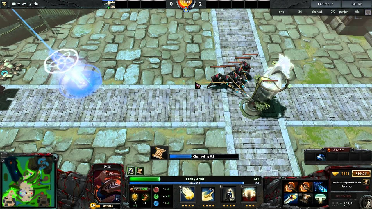 [Dota2] PVE Map Custom Game 1
