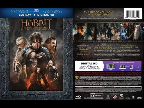 The Hobbit The Battle Of The Five Armies 2014 Extended Edition Movie Review Youtube