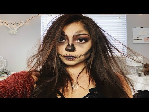 HALLOWEEN SKELETON MAKEUP 2018 | Tatiana Navarro thumbnail