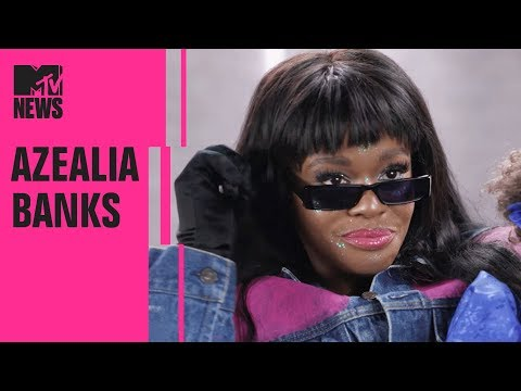 Azealia Banks on the Origins Of 'Anna Wintour' & Her Seapunk Aesthetic | MTV News