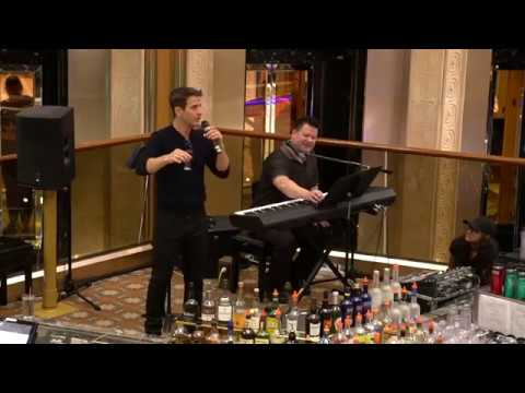 You Just Want Us Drunk & Naked Toast  Joey McIntyre HD  NKOTB Cruise 2017  Atrium Concert