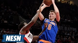 Kristaps Porzingis Claims His Twitter Was Hacked