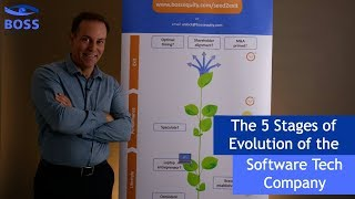 The 5 Stages of Evolution of the Software Tech Company