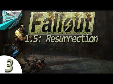 Let's Play Fallout 1.5: Resurrection (part 3 - Rat Hole [blind])