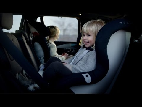 Volvo new generation child car seats