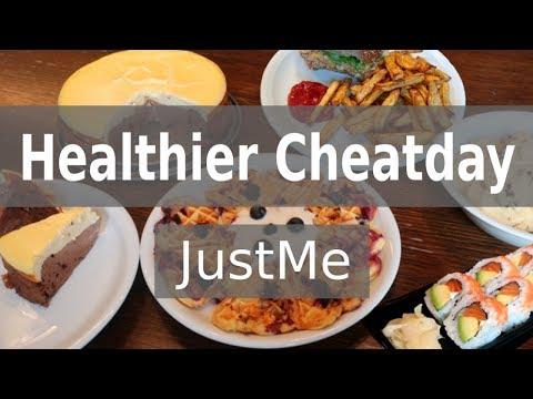 Healthy/Healthier Cheatday (+ a few recipes)
