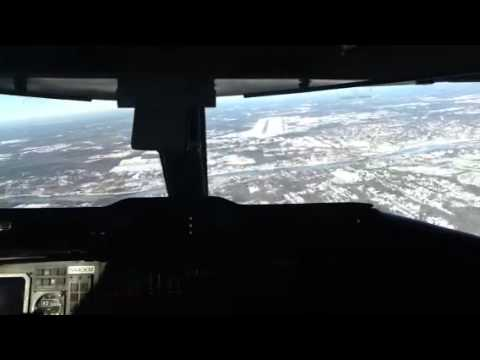 Landing at Boston