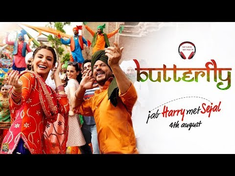 Butterfly Jab Harry Met Sejal || Dance Song || Punjabi Dance Song || Romantic Love Song