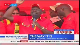 Morning Express - 16th October 2017 - State of Kenyan Politics