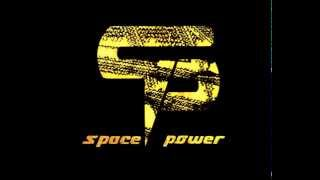 logo promo - Space power TV channel - designed by Zina Intabi