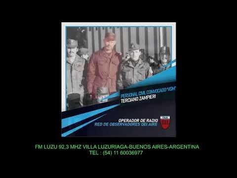 entrevista al Tcnl Inf VGM Jorge Ruben Farinella