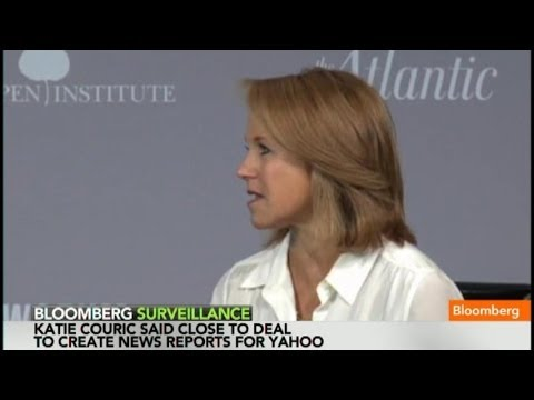 Katie Couric Will 'Disappear' on Yahoo: Bibb