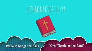"""Give Thanks to the Lord"" 