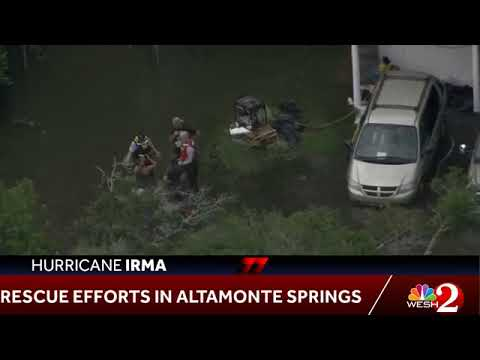 WESH 2 News - Altamonte Springs - Little Wekiva River Flooding