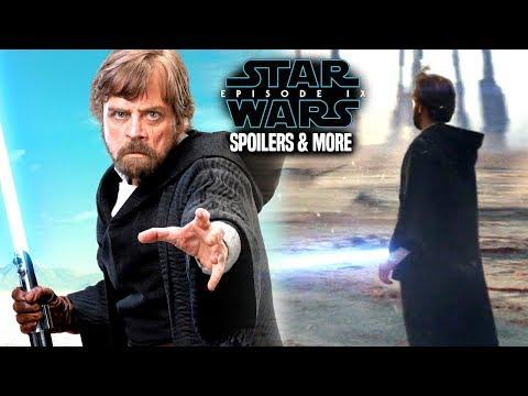 Star Wars Episode 9 Spoilers Of Luke Skywalker & More! (Star Wars News)