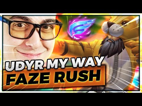 9.2 Udyr Jungle My Way | Faze Rush - Trick2G