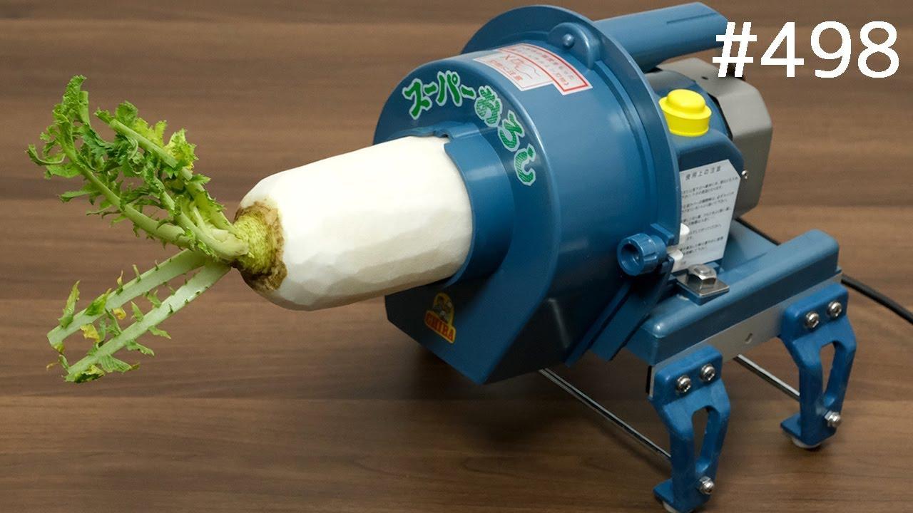 業務用で高速に大根おろし!Electric High Speed Grater Machine. Grated Japanese Radish Daikon
