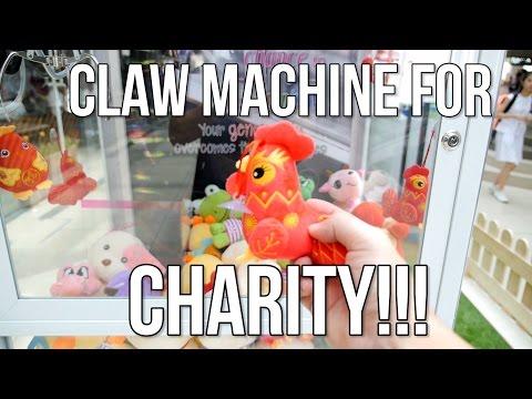 Claw Machine for Charity | Arcade Ninja