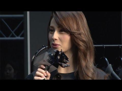 ダレノガレ、中田英寿氏のサプライズにメロメロ「こういう人がモテる!」 ファッションレーベル『AXE BLACK LABEL』プレスプレビュー