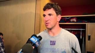 VIDEO: Giants Eli Manning on the 1st day of OTA's