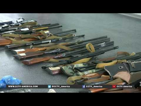 Ukraine conflict boosts illegal weapons market
