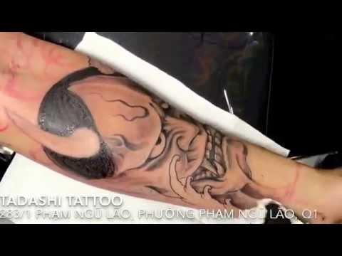 Hanya mask tattoo