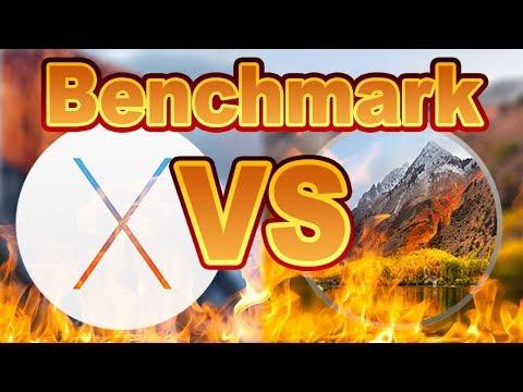 High Sierra VS El Capitan Is it Faster/Slower Benchmark