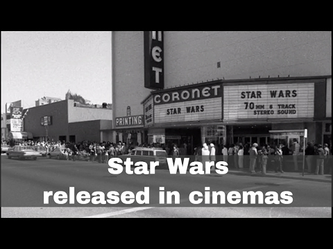 25th May 1977: Star Wars is first released in cinemas
