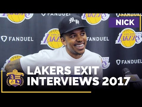 Lakers Exit Interviews 2017: Nick Young Unlikely To Return To Lakers?