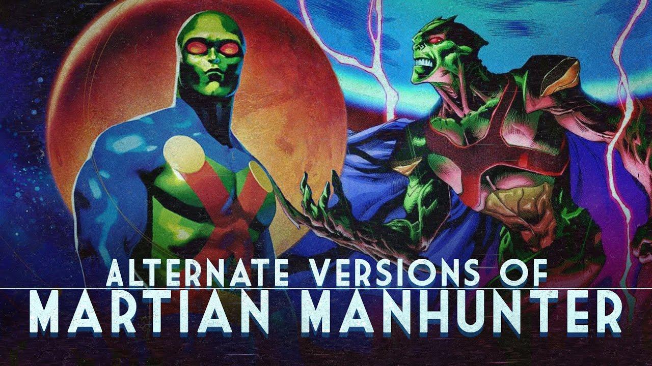 Alternate Versions of Martian Manhunter