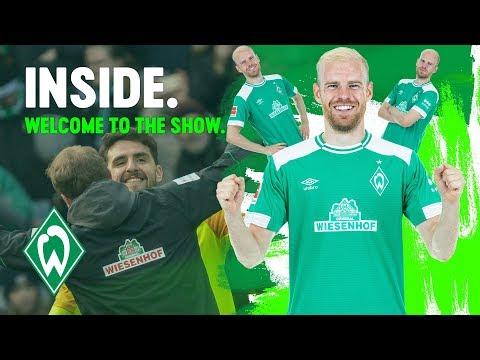 Der dreifache Davy Klaassen und Showmaster Stefanos Kapino  | WERDER.TV Inside nach SC Freiburg