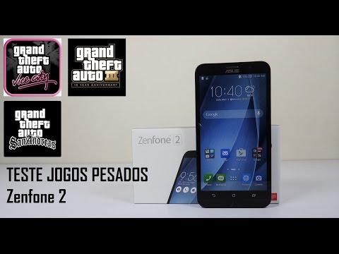 Zenfone 2 Teste Jogos Pesados GTA VC GTA III GTA SA